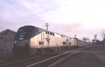 The detouring Auto-Train leaves the BBRR 
